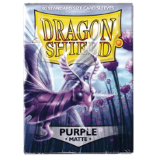 Dragon Shield Matte - Purple (60 stk)