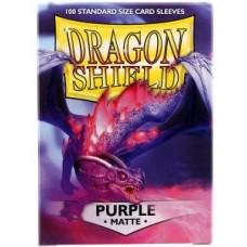 Dragon Shield Matte - Purple (100 stk)
