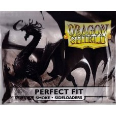 Dragon Shield: Perfect Fit Sideloader - Smoke (100 stk)