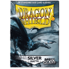 Dragon Shield Matte Non-Glare - Silver (100 stk)