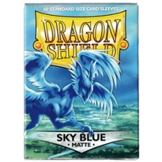 Dragon Shield Matte - Sky Blue (60 stk)