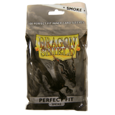 Dragon Shield: Perfect Fit - Smoke (100 stk)