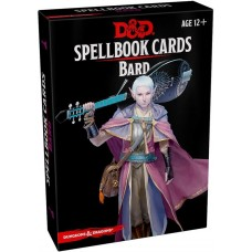 Dungeons & Dragons 5th Ed. Spell Deck Bard