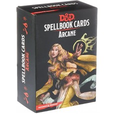 Dungeons & Dragons 5th Ed. Spell Deck Arcane