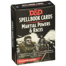 Dungeons & Dragons 5th Ed. Spell Deck Martial Powers & Races