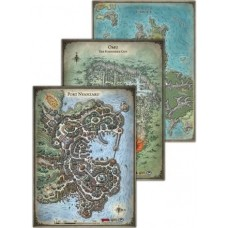 Dungeons & Dragons 5th Ed. Tomb of Annihilation Map Set