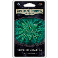 Arkham Horror: The Card Game – Where The Gods Dwell Mythos Pack