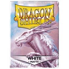 Dragon Shield Matte - White (100 stk)