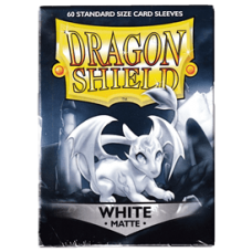 Dragon Shield Matte - White (60 stk)