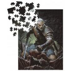 The Witcher 3 - Wild Hunt: Geralt - Trophy Puzzle