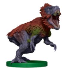 Dinosaur Token Miniature