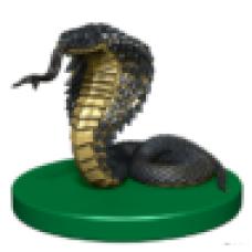 Snake Token Miniature