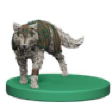 Wolf Token Miniature
