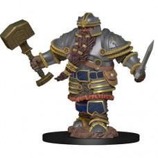 D&D Icons: Dwarf Fighter Male Premium Figure