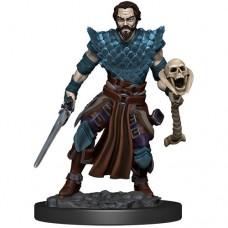 D&D Icons: Human Warlock Male Premium Figure