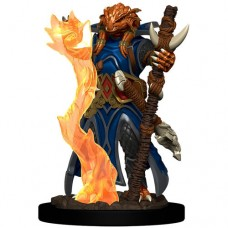 D&D Icons: Dragonborn Sorcerer Female Premium Figure
