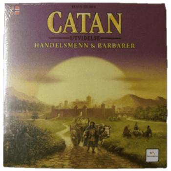 Catan: Handelsmenn og Barbarer (Norsk Utgave)