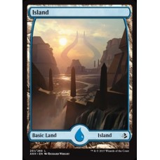 Island - Full Art (Amonkhet)