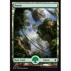 Forest - Full Art v. 2 (Battle for Zendikar)