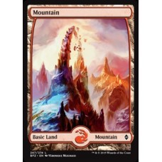 Mountain- Full Art v. 4 (Battle for Zendikar)