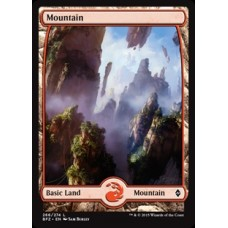 Mountain- Full Art v. 1 (Battle for Zendikar)