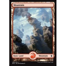 Mountain- Full Art v. 5 (Battle for Zendikar)