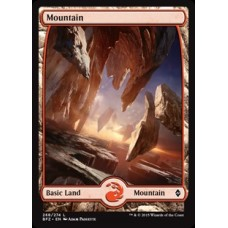Mountain- Full Art v. 2 (Battle for Zendikar)