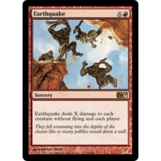 Earthquake (Magic 2010 Core Set)