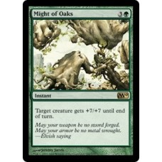 Might of Oaks (Magic 2010 Core Set)