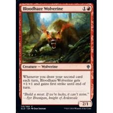Bloodhaze Wolverine (Throne of Eldraine)