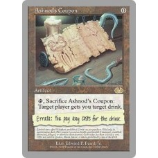 Ashnod's Coupon (Unglued)