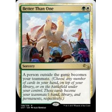 Better Than One (Unstable)