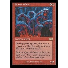 Scoria Wurm (Urza's Saga)