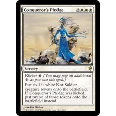 Conqueror's Pledge (Zendikar)