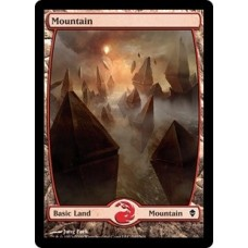 Mountain- Full Art v. 1 (Zendikar)