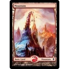 Mountain- Full Art v. 2 (Zendikar)