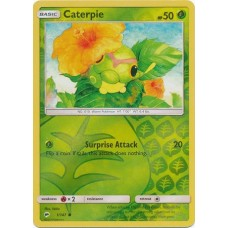 Caterpie - 1/147 (Burning Shadows) - Reverse Holo