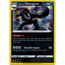 Galarian Obstagoon - 037/073 (Champions Path) - Holo