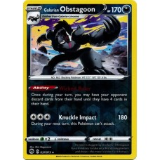 Galarian Obstagoon - 037/073 (Champions Path)- Reverse Holo