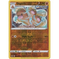 Dugtrio - 77/198 (Chilling Reign) - Reverse Holo