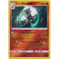 Alolan Marowak - 12/111 (Crimson Invasion) - Reverse Holo