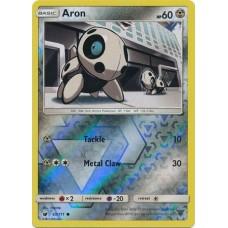 Aron - 65/111 (Crimson Invasion) - Reverse Holo