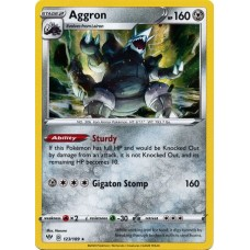 Aggron - 123/189 (Darkness Ablaze)- Holo