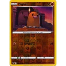 Diglett - 084/189 (Darkness Ablaze)- Reverse Holo