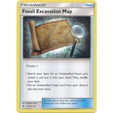 Fossil Excavation Map - 107/131 (Forbidden Light)
