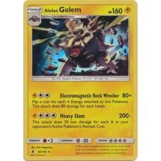 Alolan Golem - 42/145 (Guardians Rising) - Holo
