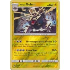 Alolan Golem - 42/145 (Guardians Rising) - Reverse Holo