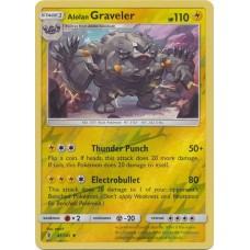 Alolan Graveler - 41/145 (Guardians Rising) - Reverse Holo