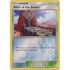 Altar of the Sunne - 118/145 (Guardians Rising) - Reverse Holo