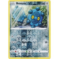 Bronzor - 129/192 - Reverse Holo  (Rebel Clash)